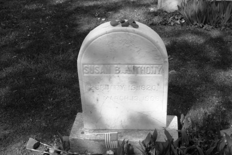 Susan B. Anthony Grave Site