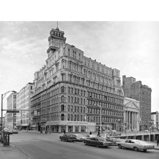 Powers Building in 1968