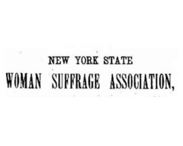 Twenty-Fourth NY State Suffrage Convention