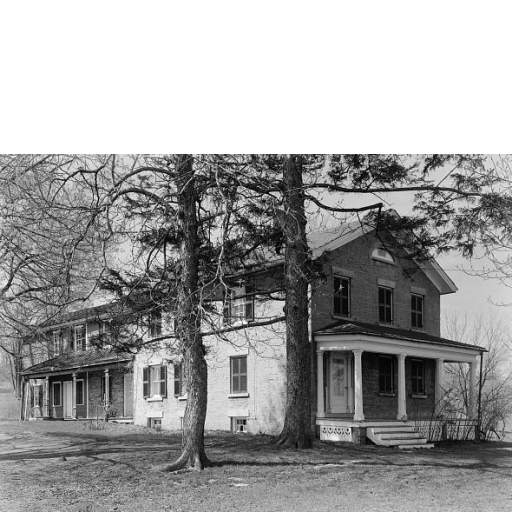 Period photo of main house