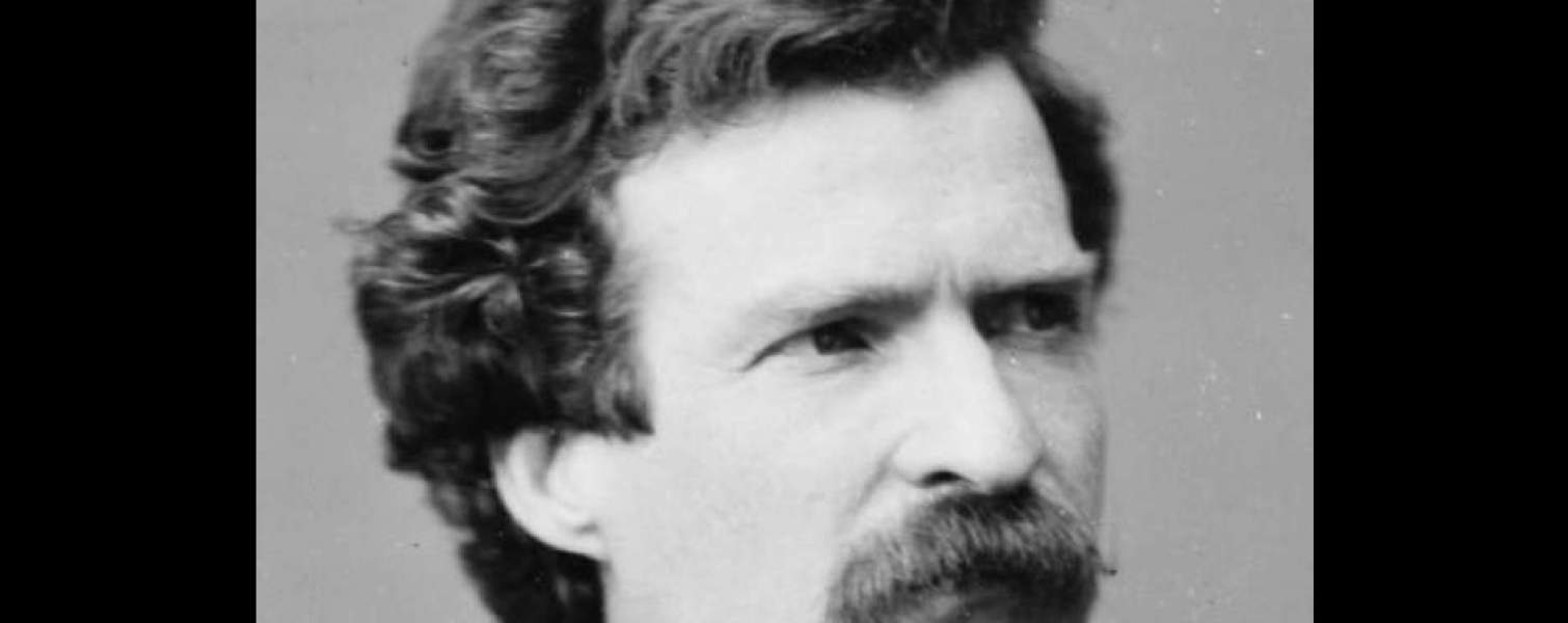 Mark Twain Gives Unknown Lecture in Hornellsville