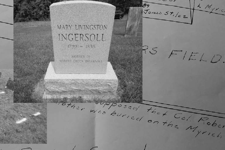 Mary Livingston Ingersoll Grave Site