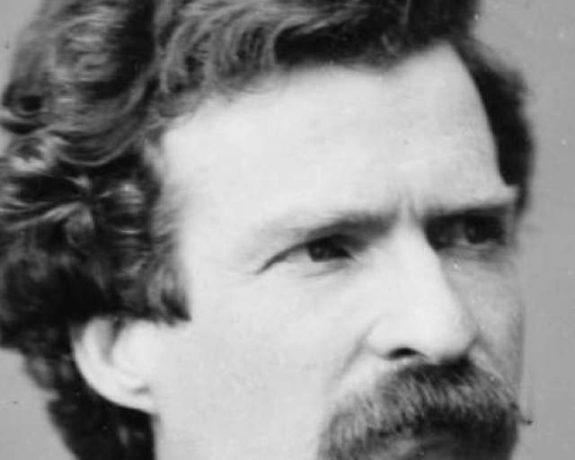 Mark Twain Gives