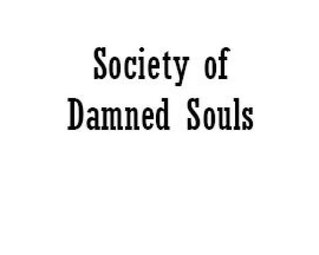 Scandal of the Society of Damned Souls