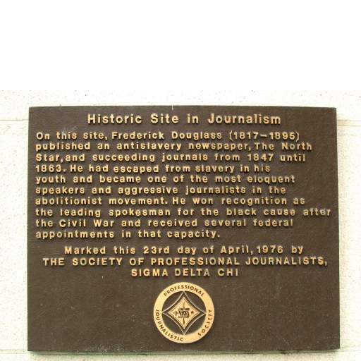 Journalism Society Plaque