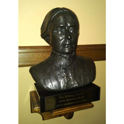 Bust of Susan B. Anthony