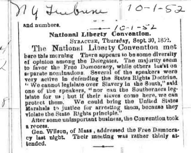 National Liberty Convention