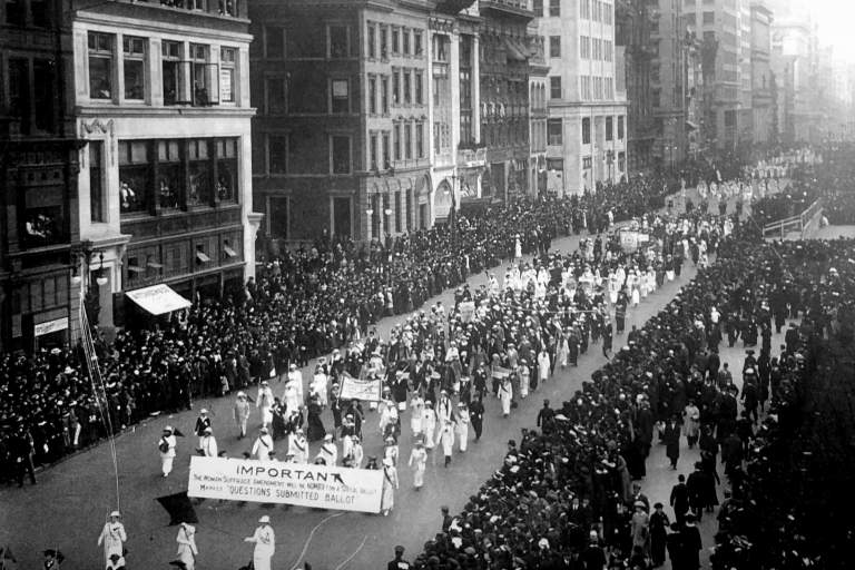 New York State Woman Suffrage Association (NYSWSA)