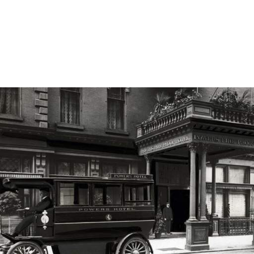 Powers Hotel Entrance and Carriage