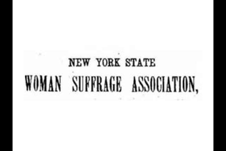 Thirty-Third NY State Suffrage Convention