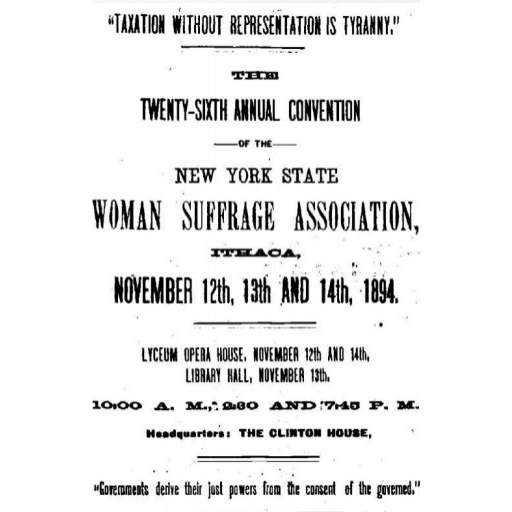 Newspaper Ad for Convention