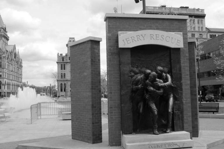 Jerry Rescue Monument