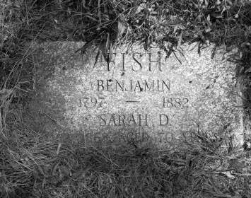 Benjamin and Sarah Fish Grave Site