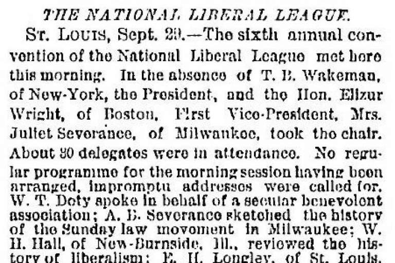 National Liberal League