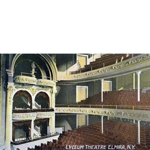 Interior of Lyceum Theater (former Opera House)