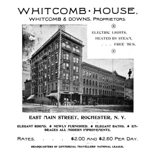 Whitcomb House Advertisement