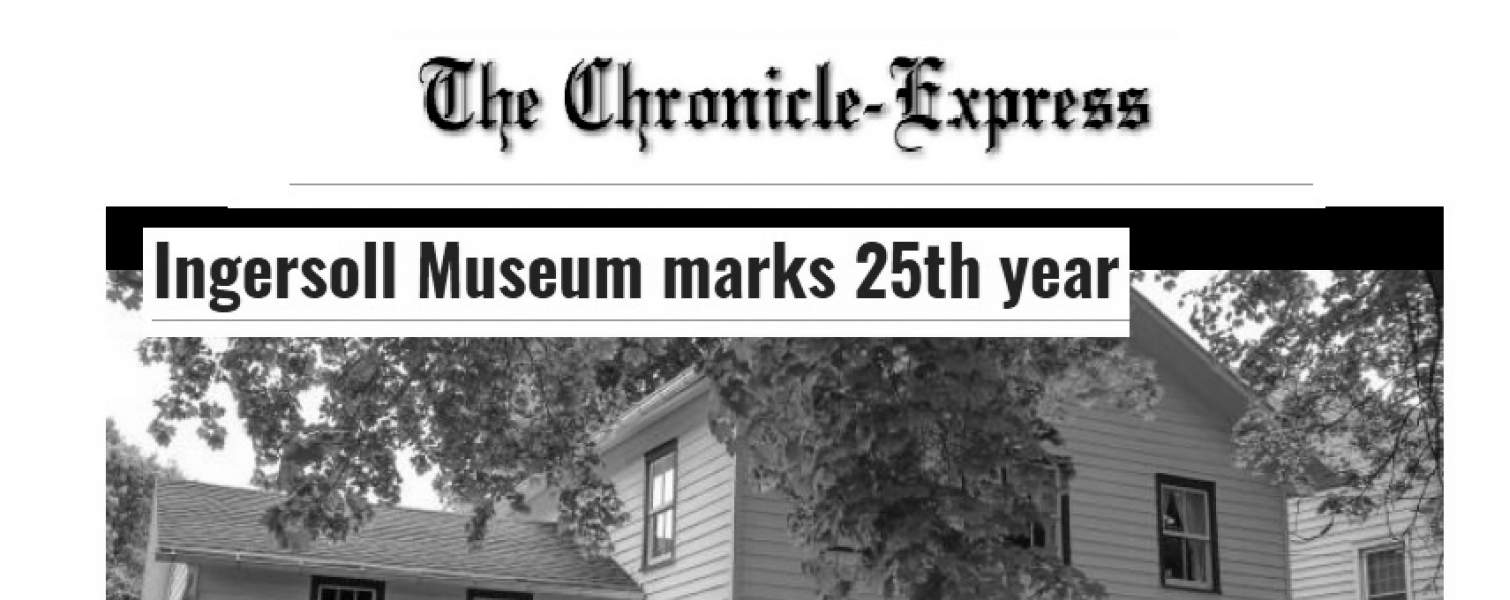 Penn Yan Chronicle Express Notes Museum's Silver Anniversary